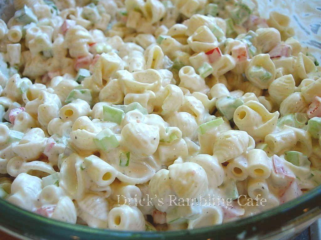 Creamy Southern Pasta Salad Drick 39 S Rambling Cafe