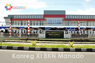 Alamat Kanreg XI BKN Manado