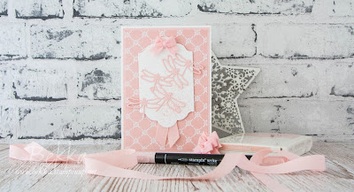 Introducing the 2017-19 Stampin' Up! In Colours.  Meet Powder Pink which you can buy here