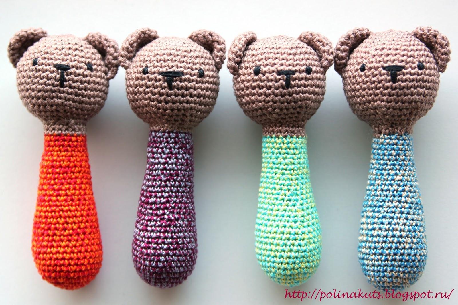 Polina Kuts игрушки вязаные Crochet Toys