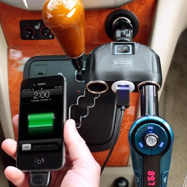 Awesome and Cool Car Rechargers (15) 15