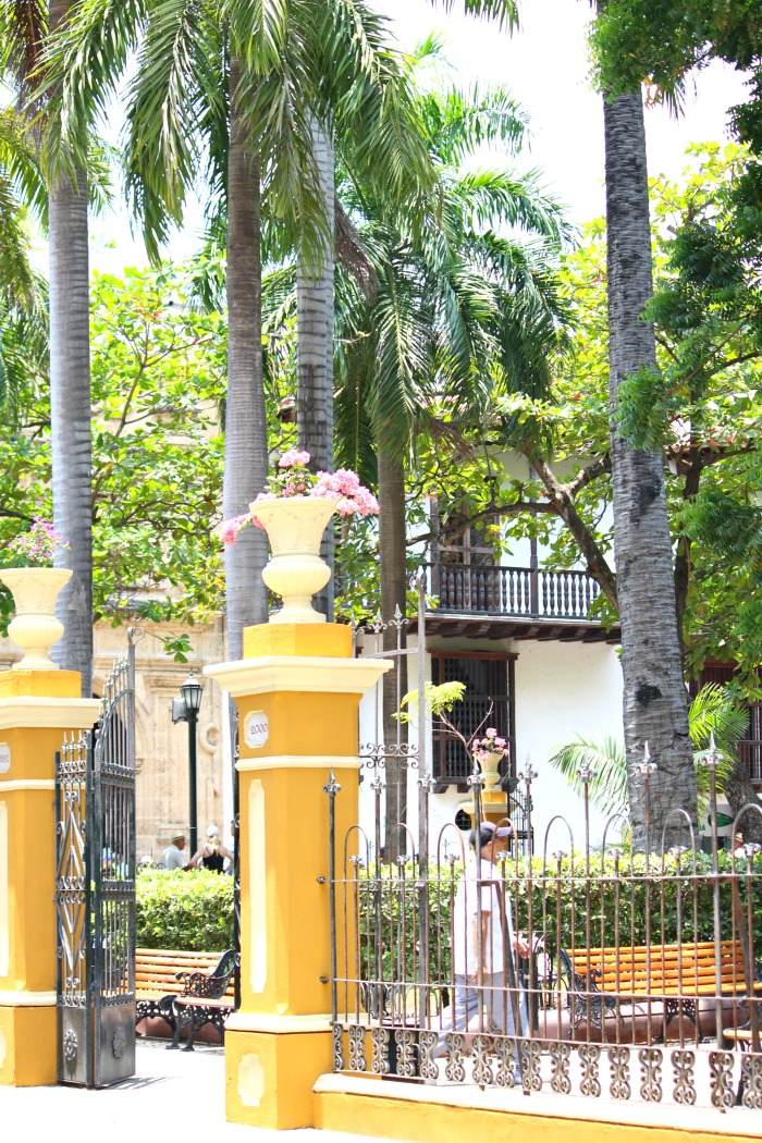 parks in cartagena colombia
