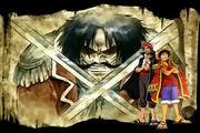 لعبة مغامرات لوفي من انمي ون بيس One Piece Gallant Fighter