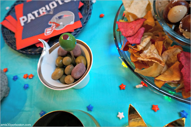 Super Bowl LII: Aperitivos Aceitunas