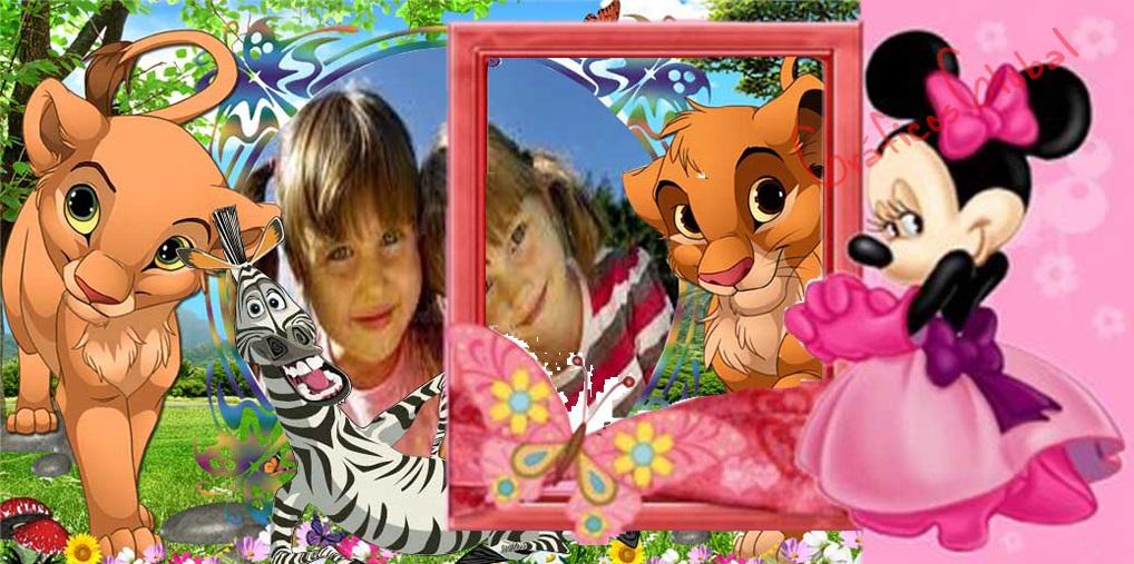 Fotomontajes Infantiles psd No3