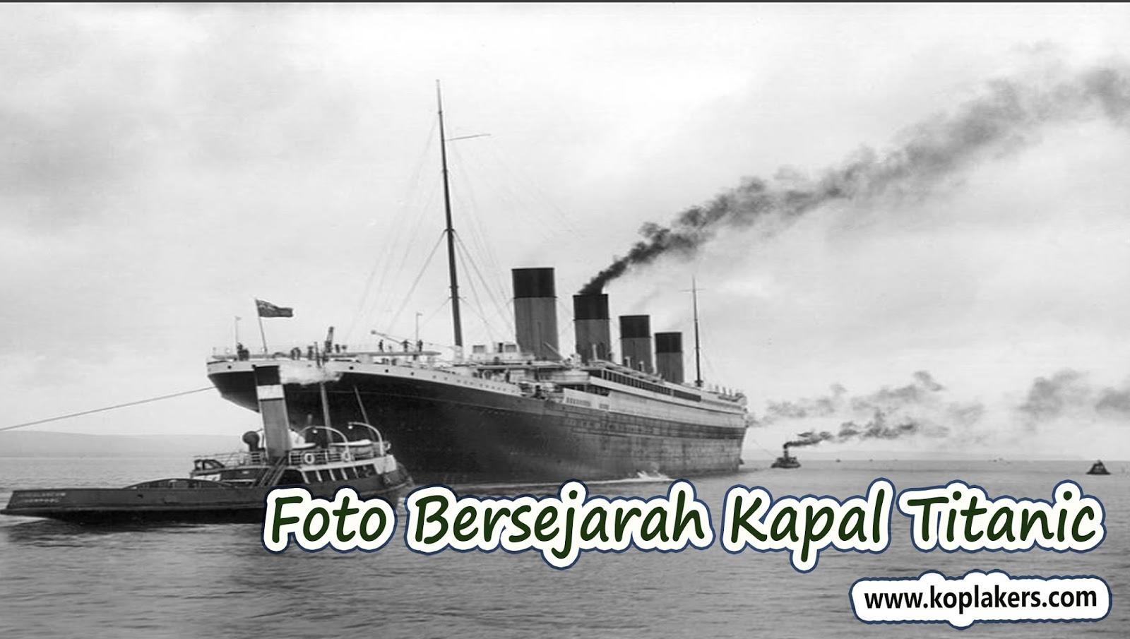Foto foto pelayaran perdana kapal titanic