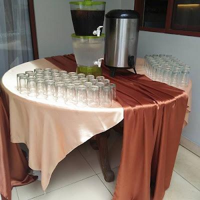 Rental Peralatan Catering Prasmanan