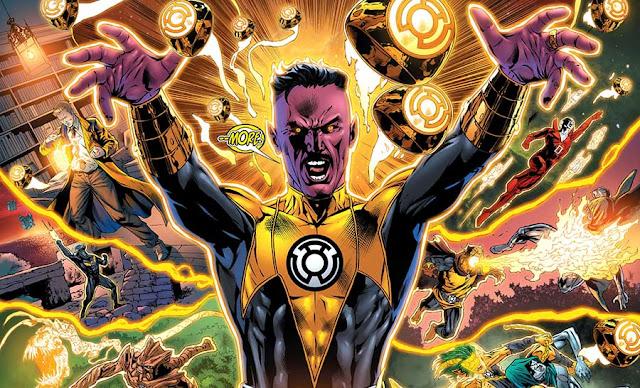 Sinestro (Yellow Lantern), Musuh Bebuyutan Green Lantern Corps