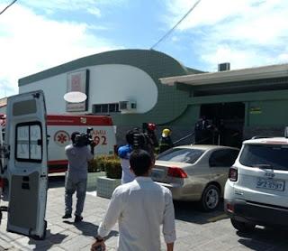 Explosão deixa duas funcionárias feridas em laboratório de João Pessoa