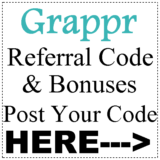 Grappr Referral Code 2016-2017, Grappr App Reviews, Grappr Refer A Friend
