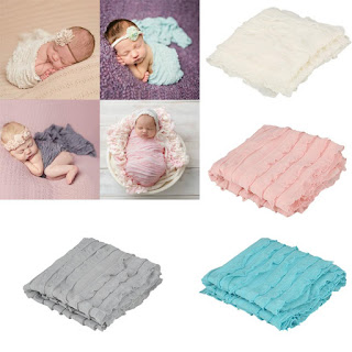 infant ruffle wrap