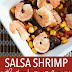 Easy Salsa Shrimp with Black Beans & Corn