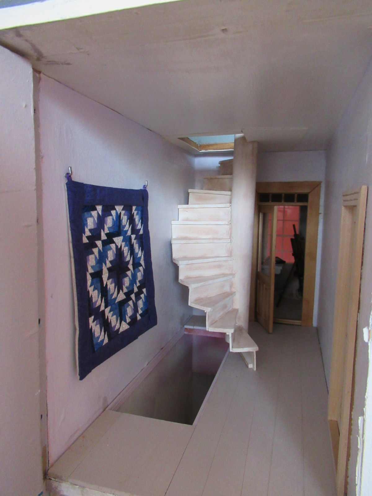 Margriet 39 s miniatures m huis trap stairs - Huis trap ...