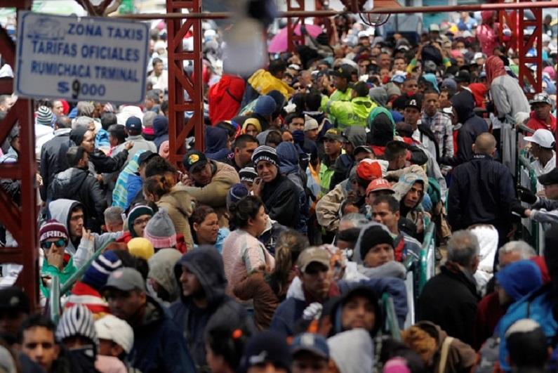 O êxodo dos venezuelanos para a Colômbia - Brasil pode ser o próximo?