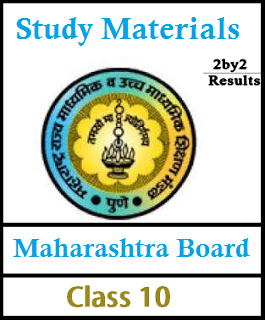 Maharashtra SSC Study Materials for All Subjects - MAH Board
