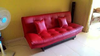 service sofa bed mustika sari
