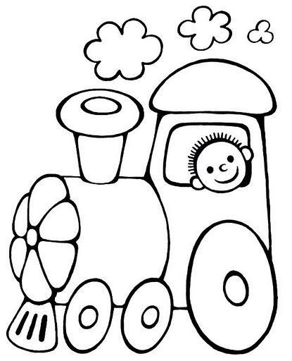 Dibujos Para Colorear Transportes Terrestres Imagui