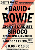 Concierto de Ziggy's Project en Siroco