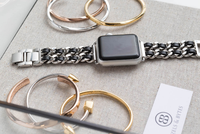 The Bezels & Bytes Apple Watch Strap Bands are Stylishly Chic