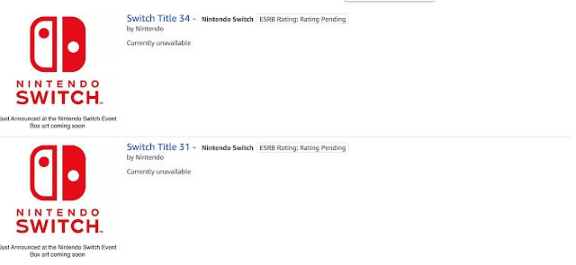 En enero se anunciarían 18 nuevas obras de NIntendo Switch