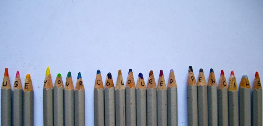 Use Your Coloured Pencils