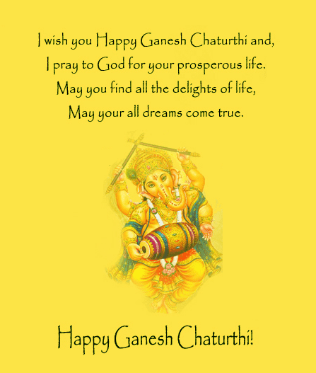 ganesha wishes