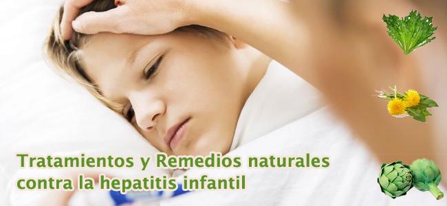 tratamiento hepatitis infantil