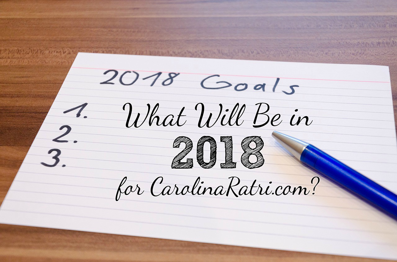 What Were In 2017 And What Will Be In 2018 For Carolinaratri.Com?