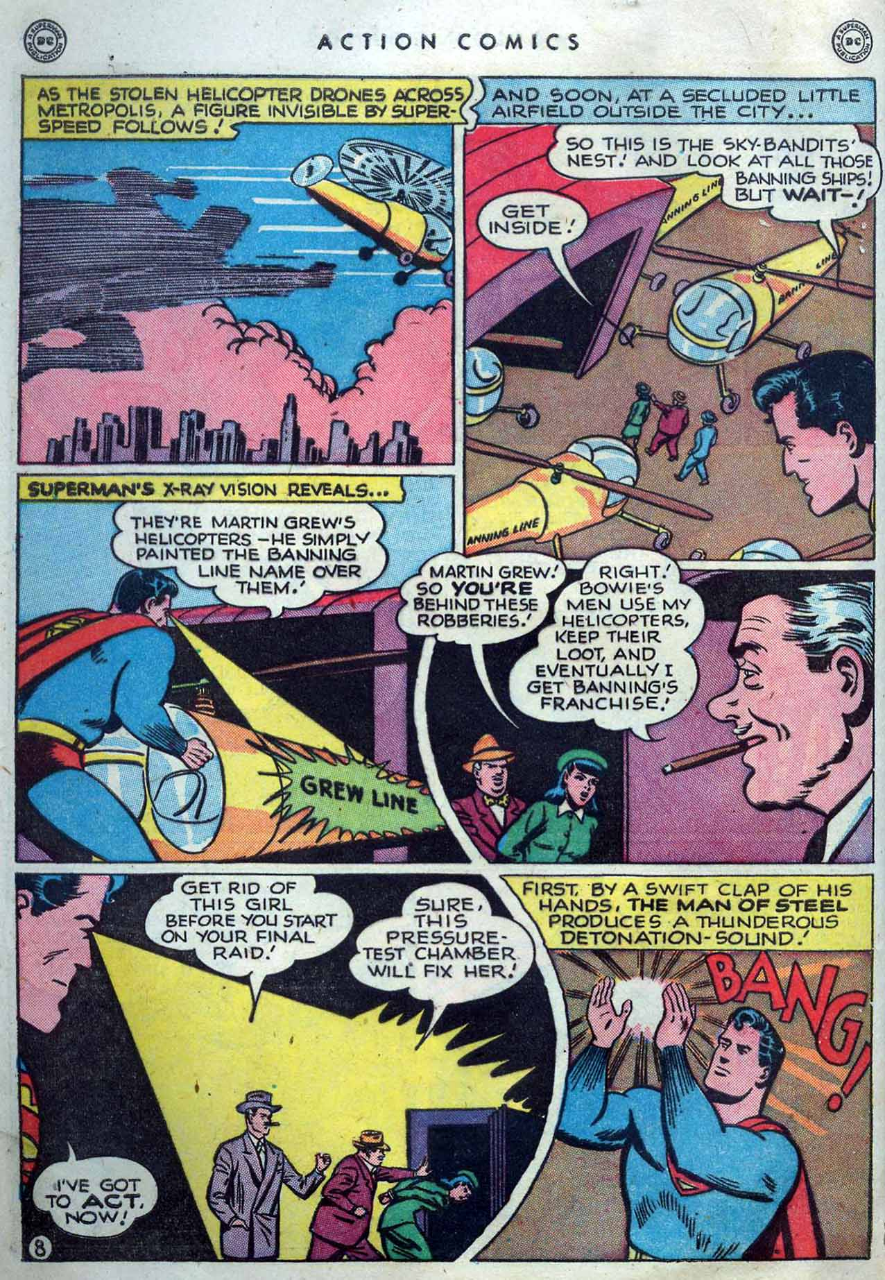 Read online Action Comics (1938) comic -  Issue #119 - 10