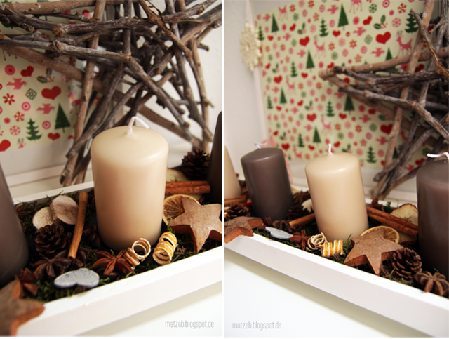 piepmatz das adventstablett a k a der adventskranz. Black Bedroom Furniture Sets. Home Design Ideas