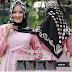 Jilbab Segi Empat Ardasya Motif Polkadot Murah Rp 27.000