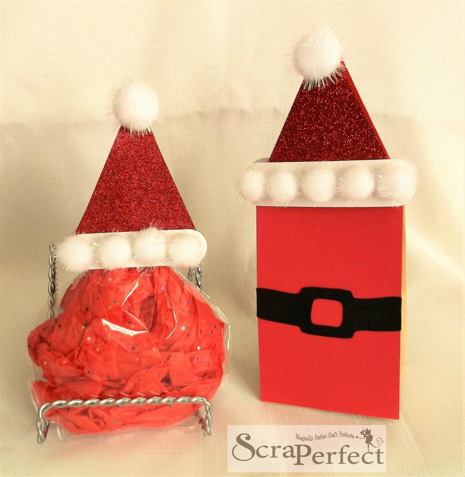 Scraperfect christmas treat bags with