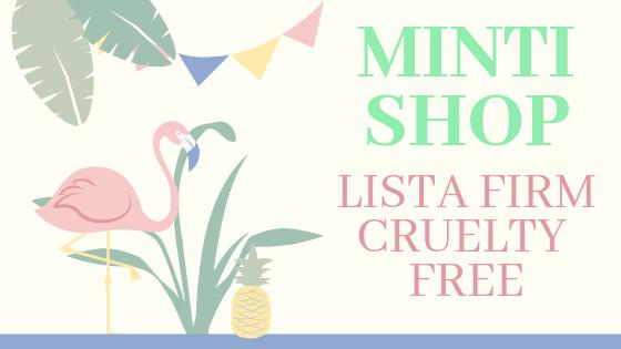 MINTISHOP.PL / LISTA FIRM CRUELTY FREE