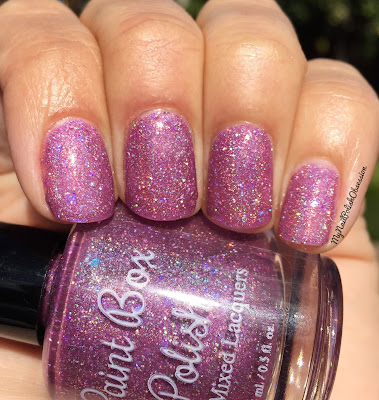 Addicted To Holos, April 2016; Paint Box Polish Orchideous