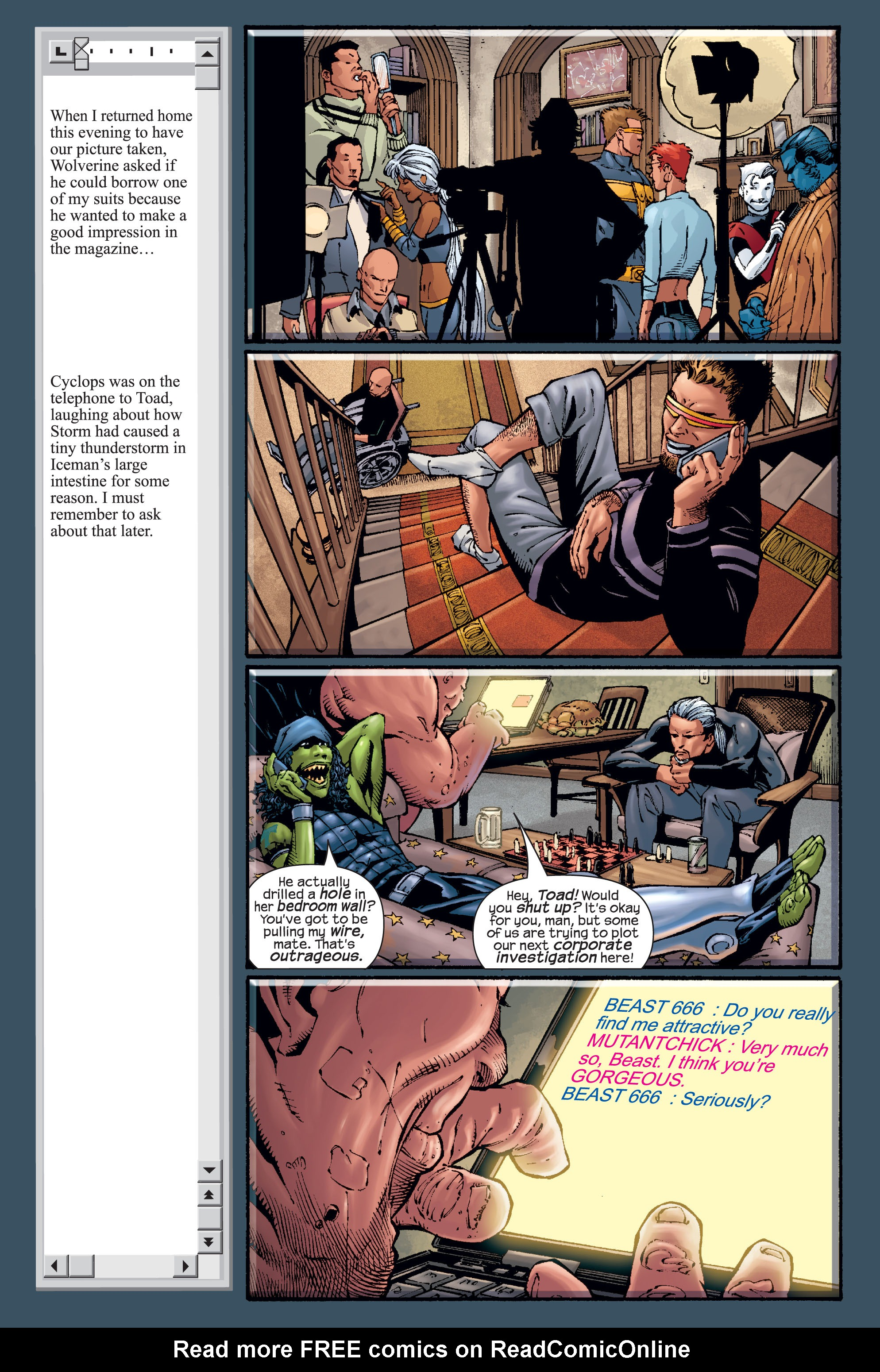 Read online Ultimate X-Men comic -  Issue #15 - 21