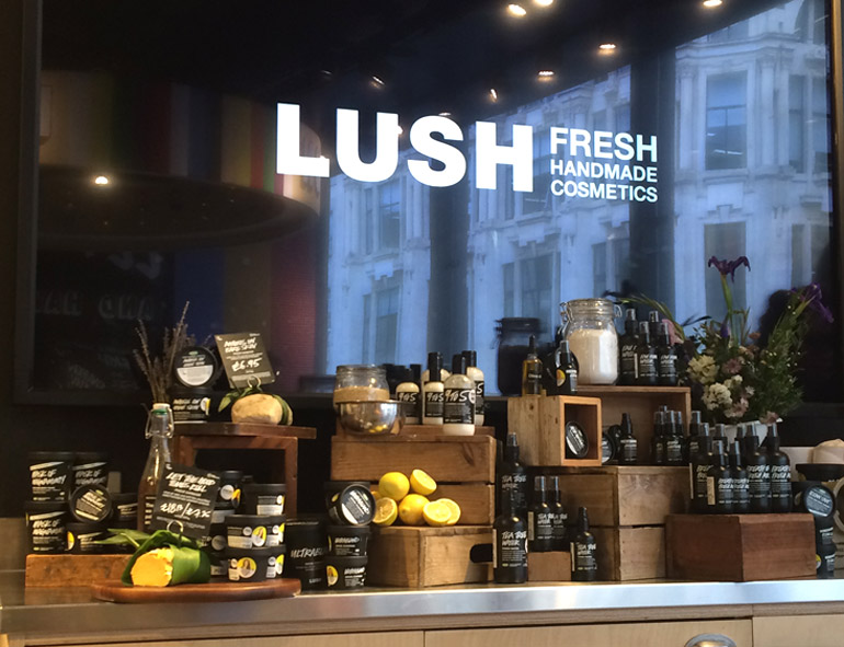oxford street lush skincare