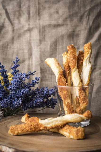 12 Parmesan Cheese Straws