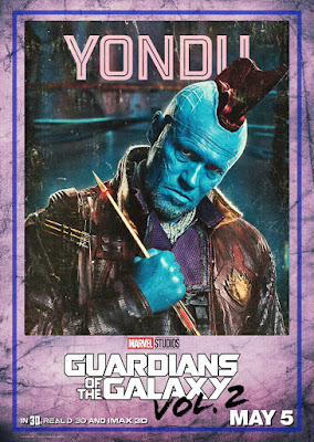 Marvel's Guardians of the Galaxy Vol. 2 Character Movie Poster Set - Yondu