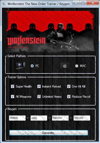 Wolfenstein The New Order Hack