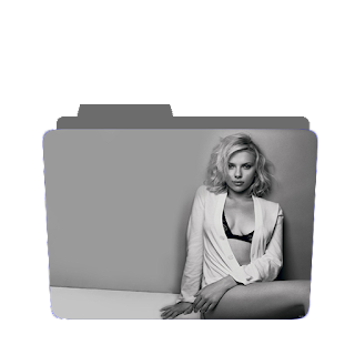 Preview scarlet johansson, grey scale, photoshoot icon