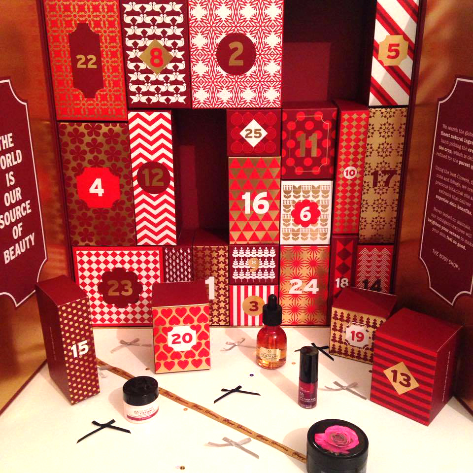 The Body Shop Ultimate Beauty Advent Calendar 2016
