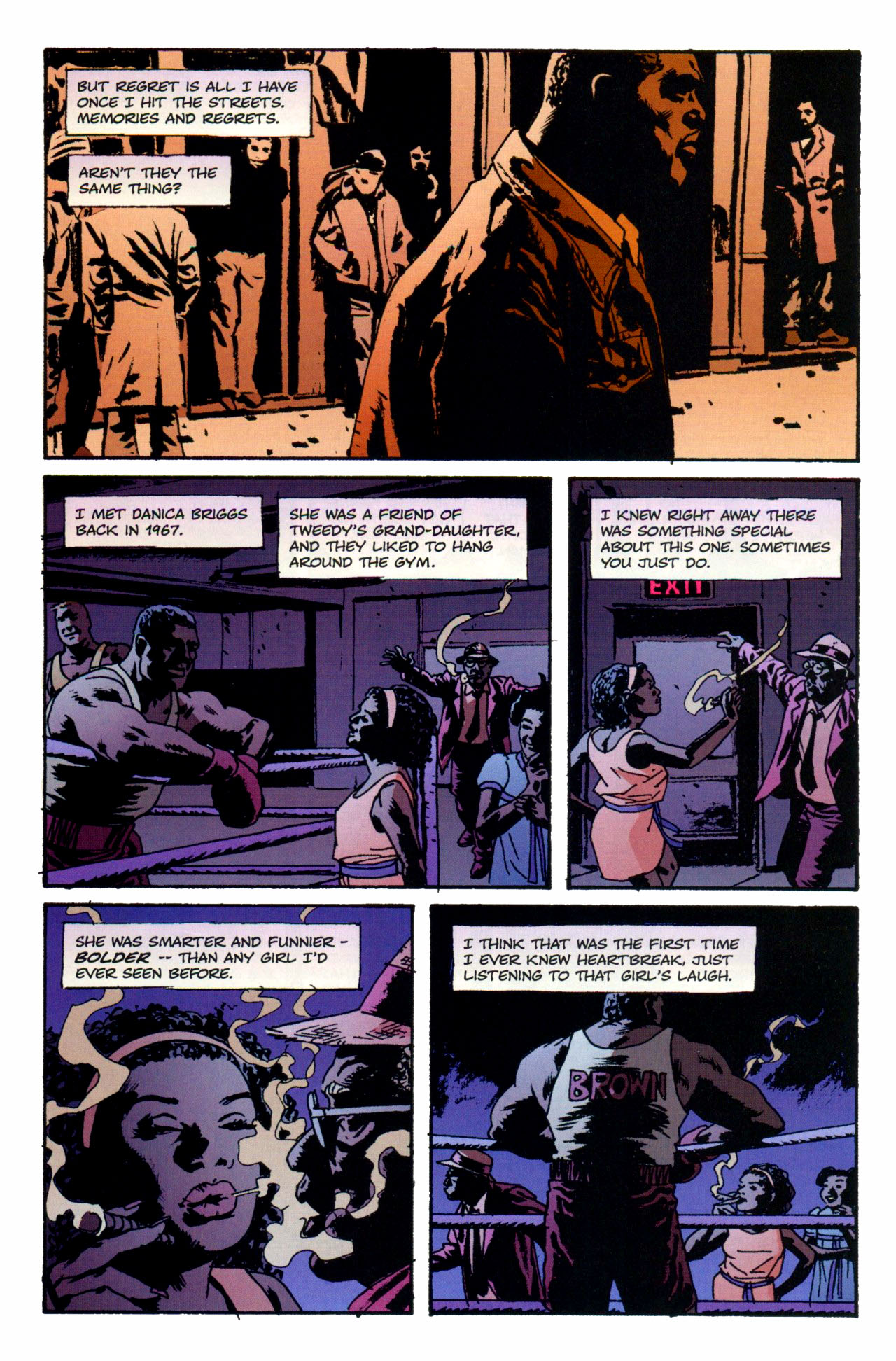 Read online Criminal (2008) comic -  Issue #1 - 15