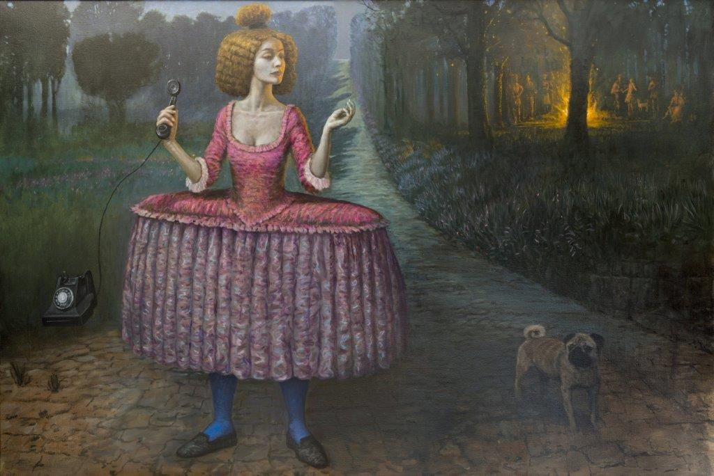 03-Its-a-Lovely-Day-Tomorrow-Mike-Worrall-Surrealism-in-Paintings-not-Always-Explained-www-designstack-co
