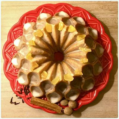 Mulled Cider Bundt Cake