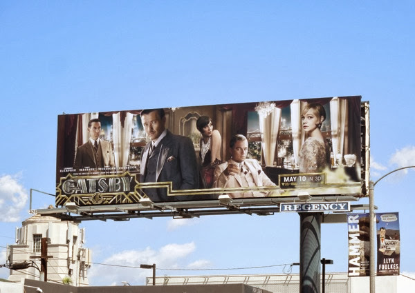 Great Gatsby 2013 movie billboard