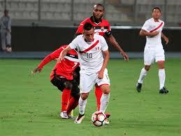 Perú vs El Salvador en partido amistoso