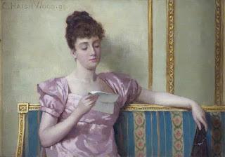 Charles Haigh-Wood - Чтение письма