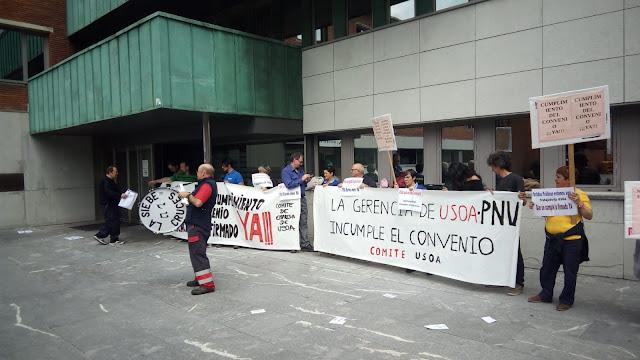 protesta de Usoa
