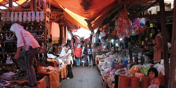 Traditional Market in Bukittinggi
