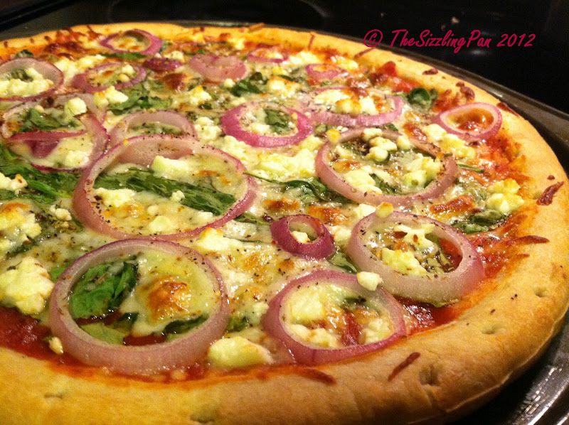the sizzling pan quoteveryday cookingquot spinachred onion